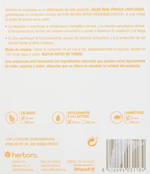 Herbora Herbovit Inmuno - 16 Viales: Amazon.es: Salud y ...