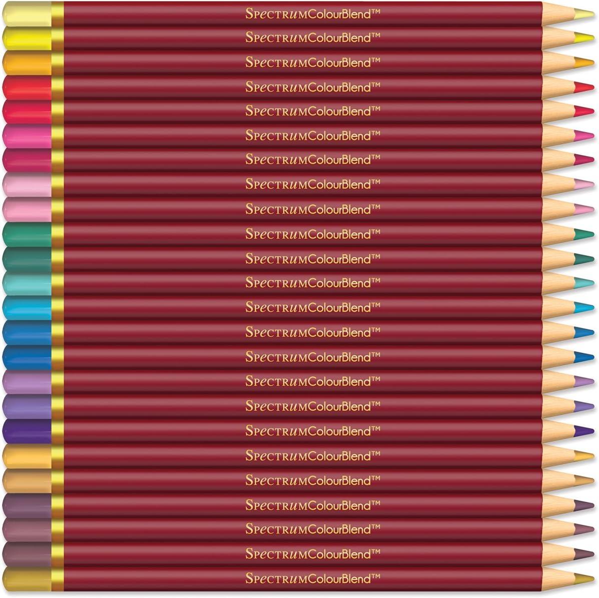 Spectrum Noir SPECCB-SOFT12 Colourblend Premium-Mischbare K/ünstler Bleistifte Weiche Farbt/öne 12 Pack-Soft Tints Wood 19 x 12 x 1.5 cm