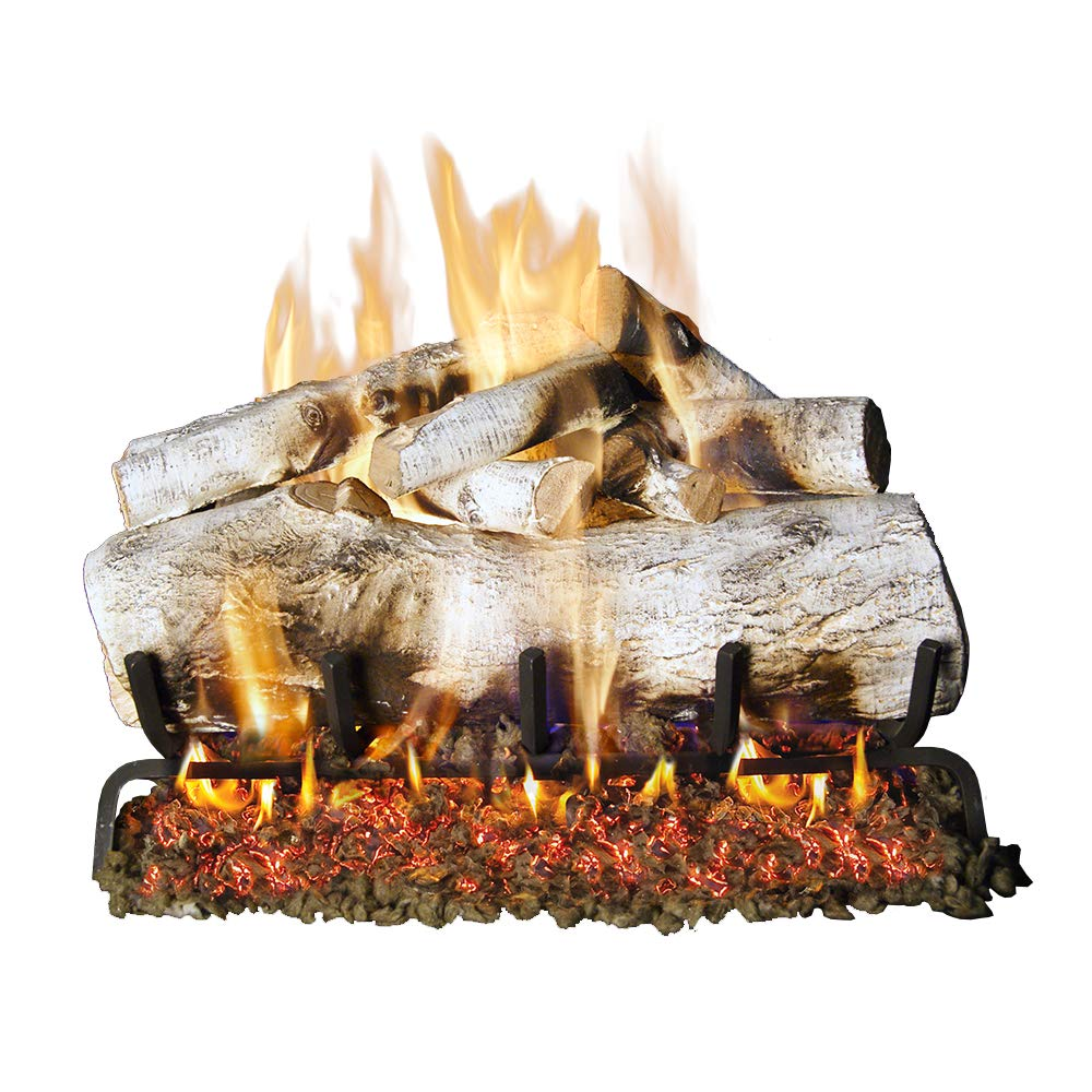 RealFyre 18'' Mountain White Birch by Peterson Real Fyre