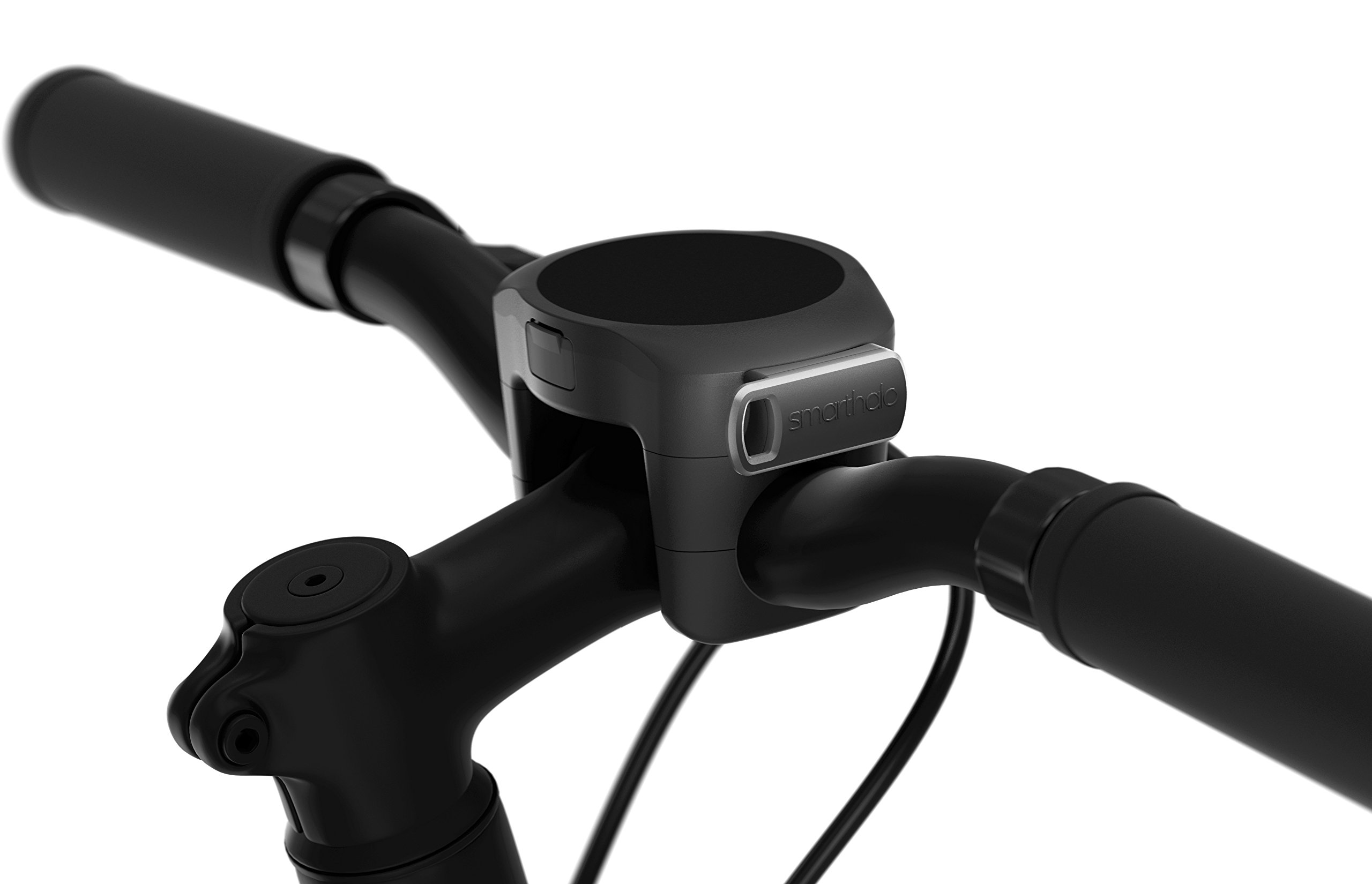 SmartHalo Premium Pack | Smart Bike Accessory Cycling Computer With Light, GPS & Navigation, Anti-Theft Alarm, Fitness Tracker, Speedometer, Odometer, and Assistant | 2x Base Mount 2x Key Included by SmartHalo (Image #3)