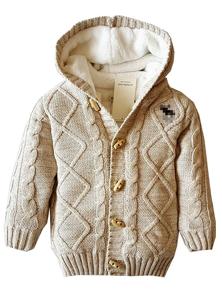 Amazon.com: ARAUS Toddler Unisex Baby Christmas Ugly Button-up Cotton Coat Hoodie Cardigan Sweater: Clothing