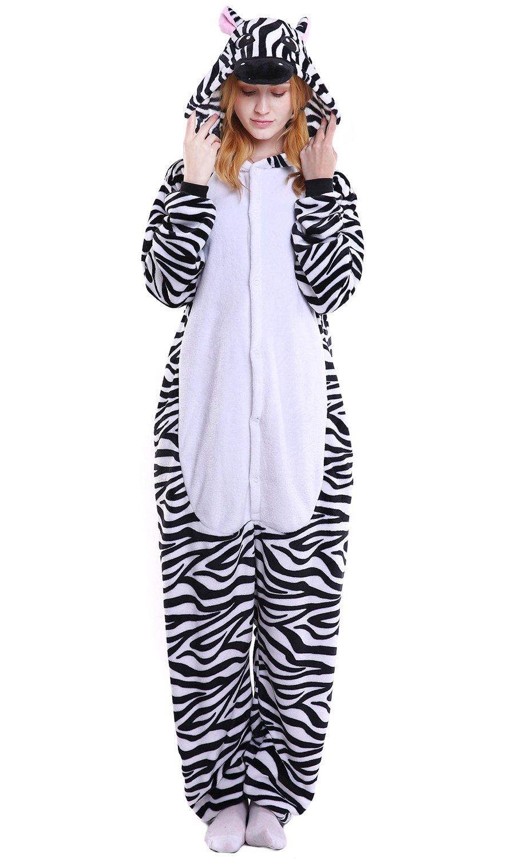 ... Traje Disfraz Animal Pyjamas, Ropa de dormir Halloween Cosplay Navidad Animales de Vestuario (Medium (61