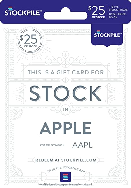 Gift Card for Apple Stock