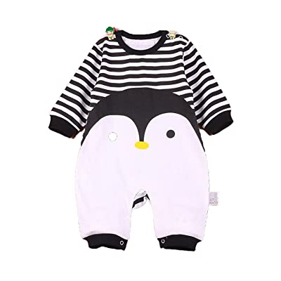 aafd11f8c Baby Layette One-Piece Rompers O-Neck Cotton Newborn Next Jumpsuit ...