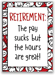 product image for Imagine Design Relatively Funny Pay Sucks, Expired, I Can Wine All I Want, I Don't Always Enjoy Being Retired, 4-Pk Assort Magnets, Red/Black/White