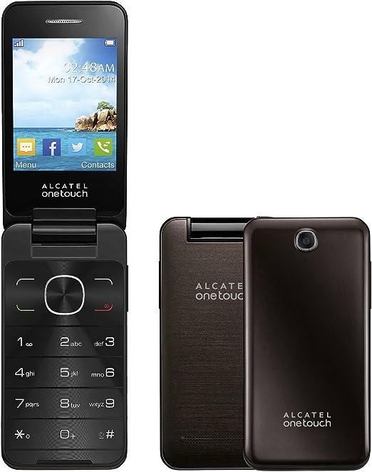 Alcatel One Touch 2012 G Dark Chocolate Oscuro Brown OT 2012 sin Simlock: Amazon.es: Electrónica