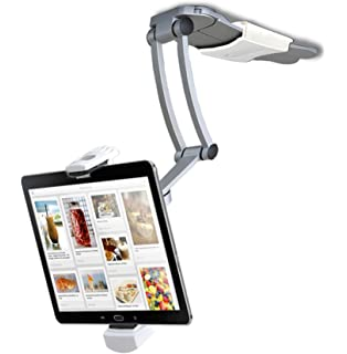 Beautiful 2 In 1 Kitchen Mount Stand For 7 13 Inch Tablets/iPad