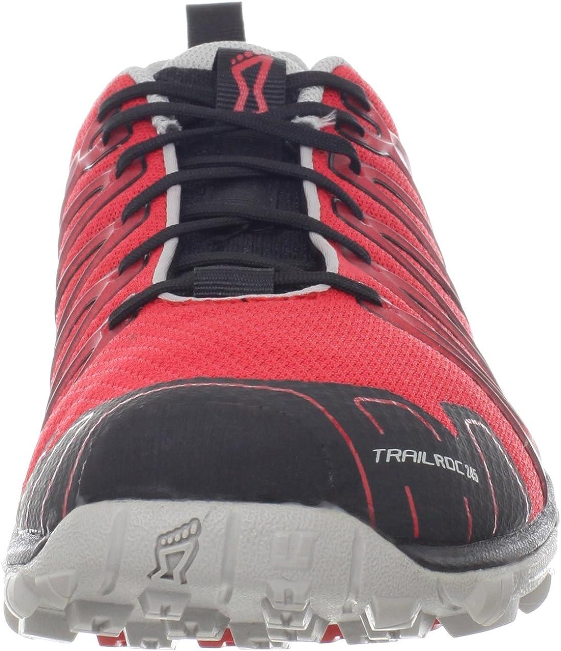 INOV8 Trailroc 245 Zapatilla de Trail Running Unisex, Rojo/Negro, 42: Amazon.es: Zapatos y complementos