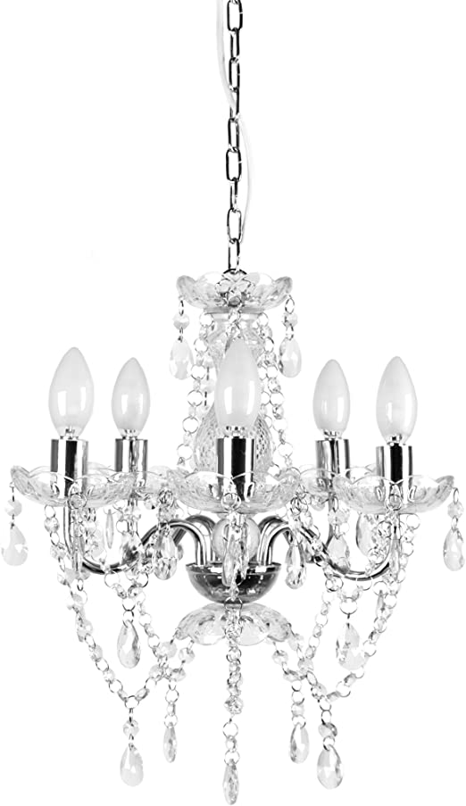 """Lighting Chandelier Lamp 3 Link Hook Chains /& Ring 22/"""" Wrought Iron 3 pcs"""