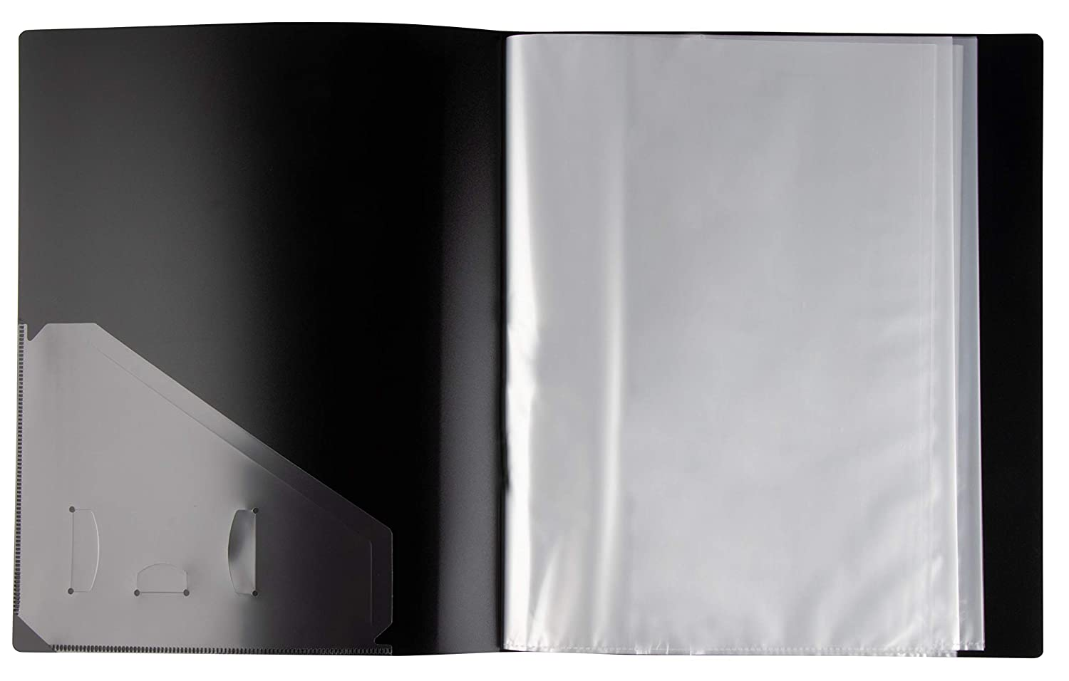 Office Products Presentation Book 40 Clear Pockets Sleeves