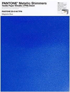 Pantone 20 0146 Feuille Magnétique En Tpm 216 X 279 Cm