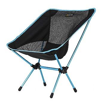 TRIWONDER Silla de Acampada Plegable Ligera Portátil Taburete para Camping Playa Pesca al Aire Libre