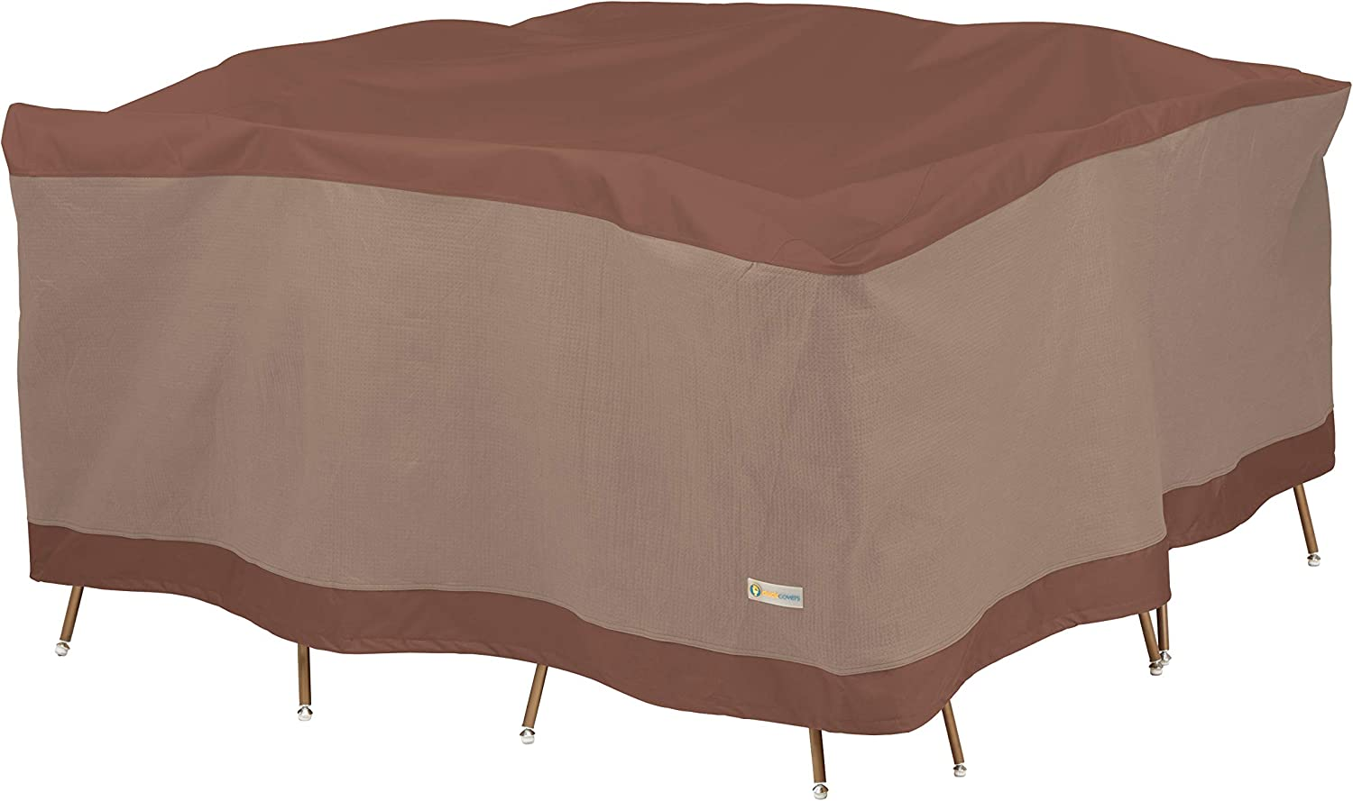 "Duck Covers Ultimate Square Table & Chair Set Cover 100"" x 100"""