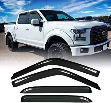 Complete Appearance American Flag Floor Mats for 2011-2016 Ford Super Duty F250 and F350