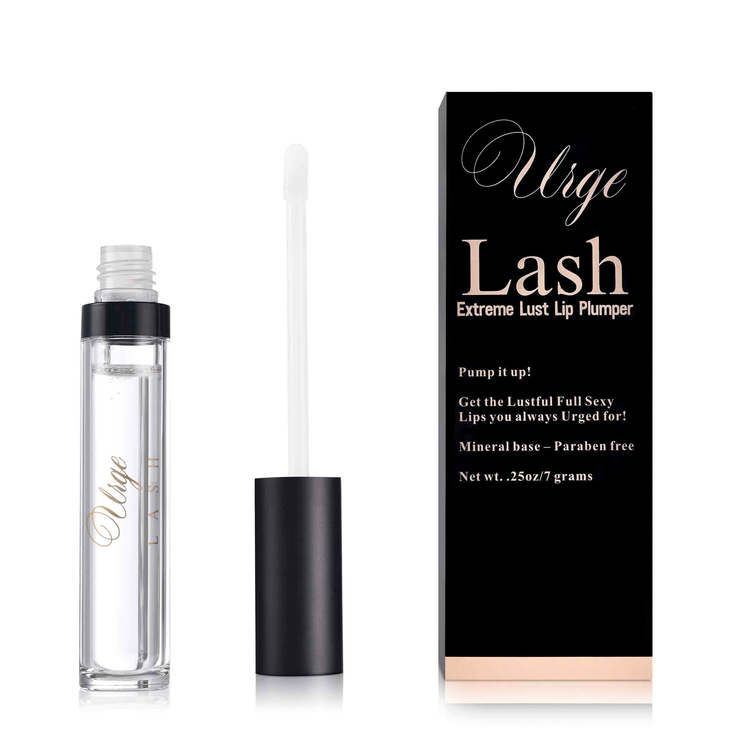 lip plumper extreme lip plumper collagen for Fuller & Reduce Fine Lines- Natural Lip Enhancer that Moisturizes Eliminates Dryness Lip Plumper Clear-Liquid Lipstick Base-Liquid Lipstick-Lip Injection by Urge Lash