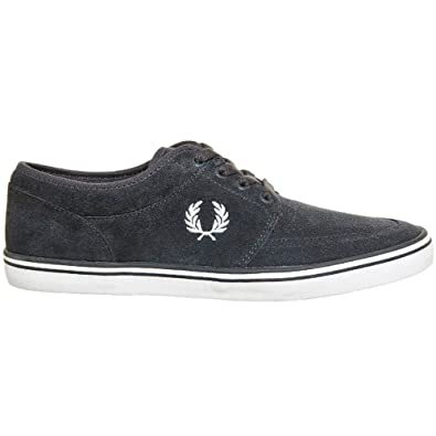 Fred Perry Stratford B1168 282 Gris. Zapatos De Cordones Oxford Para Hombre