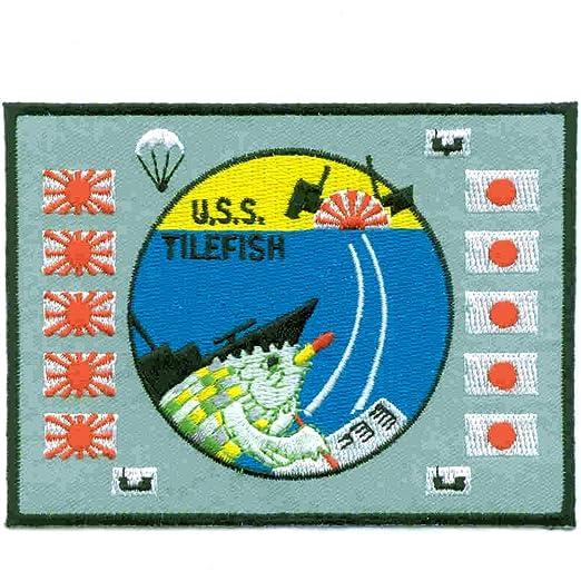 Amazon com: SS-307 USS Tilefish Patch Battle Flag: Clothing