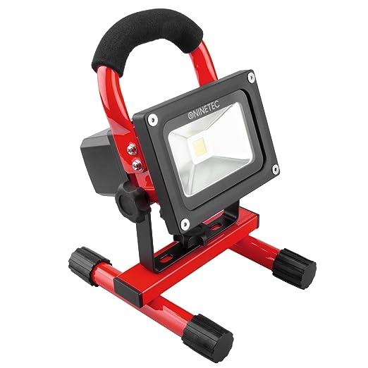 Foco proyector LED de 10 W, portátil e inalámbrico, para ...