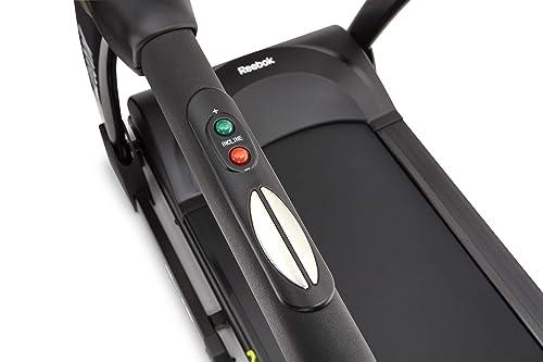 ZR8 treadmill power incline controls