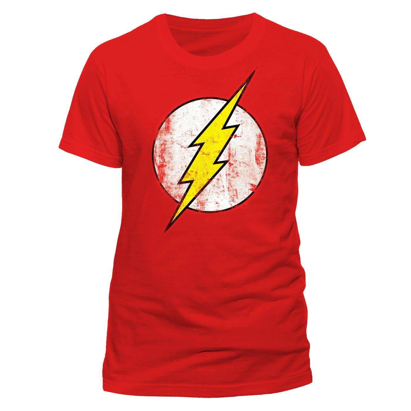 Cid The Flash - Distressed Logo - T-Shirt - Homme CIDAJ #CID Pe10793Tscp