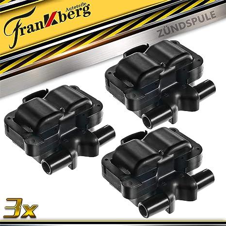 3x Zündspule Für Cabrio Fortwo City Coupe Crossblade 450 Roadster 452 I3 0 6l 0 7l 1998 2007 A1601587703 Auto