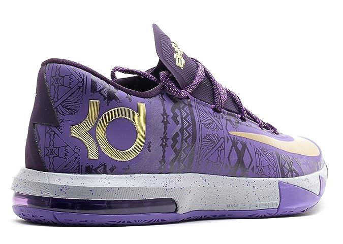 Amazon.com   nike KD VI BHM mens basketball trainers 646742 black history  month sneakers shoes   Basketball