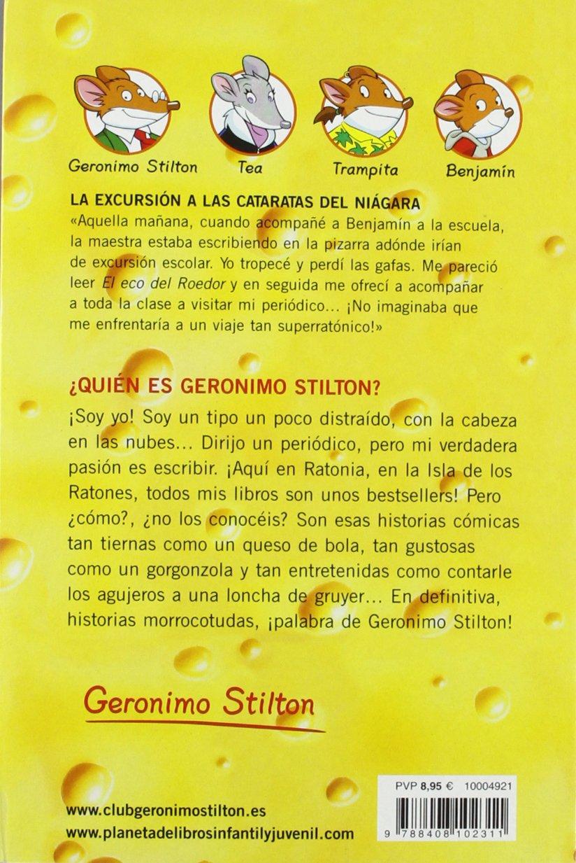 La excursión a las cataratas del Niágara: Geronimo Stilton ...