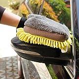 DeemoShop Multi-Function 3 in 1 Car Wash Gloves Car