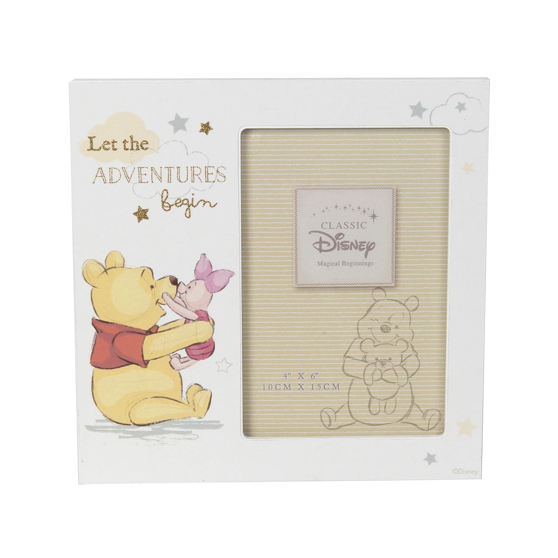 Disney m/ágico Beginnings MDF marco de 4/x 6 Winnie the Pooh aventura