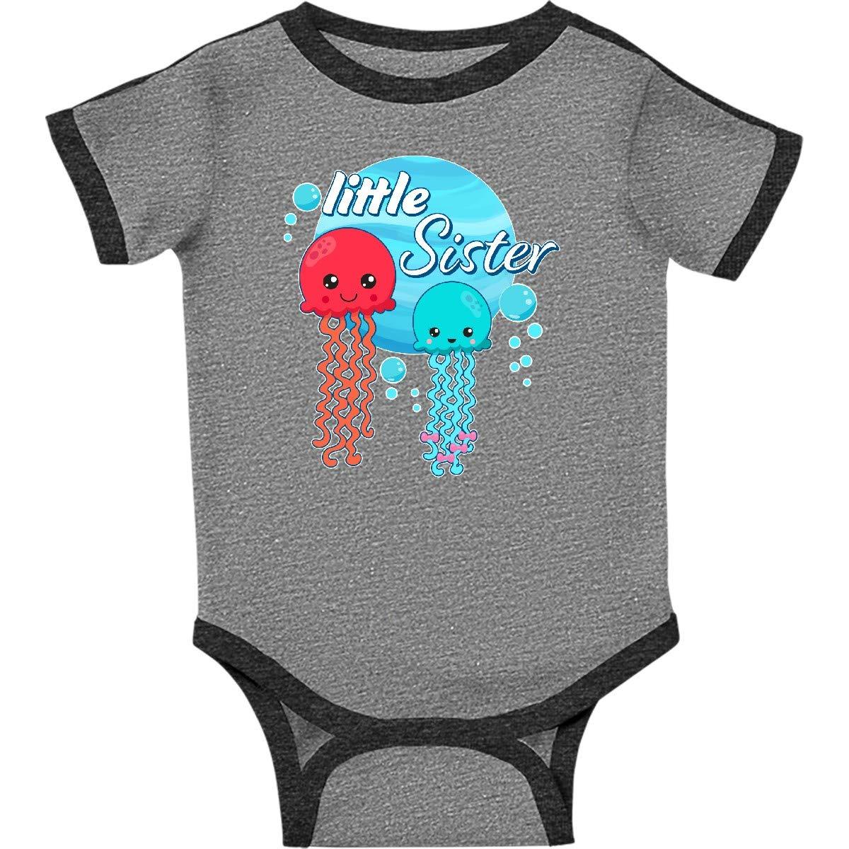 inktastic Little Sister Cute Jellyfish Toddler T-Shirt