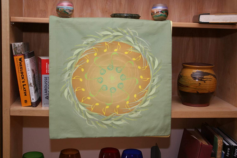 Altar Cloth or Tarot Cloth Singing Brings the Spring