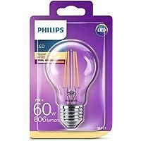 Philips LED Classic 60W A60 E27 Non-Dim 2700K LED Filament Ampul