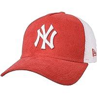 New Era New York Yankees Frame Adjustable Trucker Cap Cord Brights