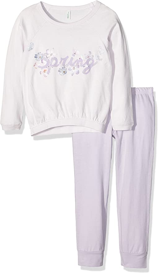 United Colors of Benetton Spring Conjuntos de Pijama, Rosa ...
