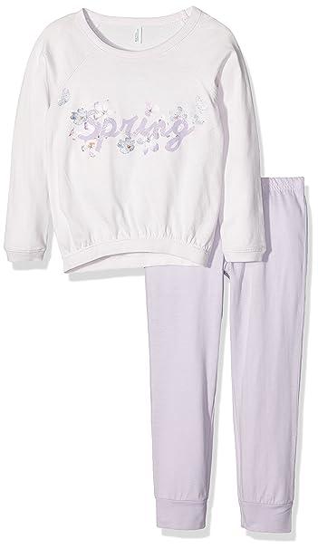 United Colors of Benetton Spring, Conjuntos de Pijama para Niñas, Rosa (Pink)