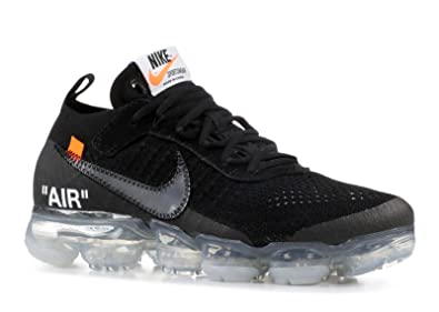 71dc63f37a9d0 SasleTOPS The 10 AIR Vapormax FK Off-White Black Total Orange Clear Mens  Womens Running