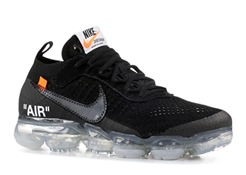 BestVIPD The 10 Air Vapormax FK Off-White Black Total Orange Clear AA3831 002 Zapatillas de Running Para Hombre Mujer: Amazon.es: Zapatos y complementos