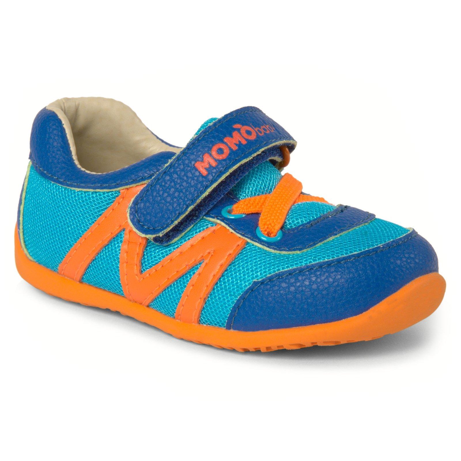 Momo Baby Boys First Walker/Toddler Hunter Sneaker Shoes - 5 M US Toddler