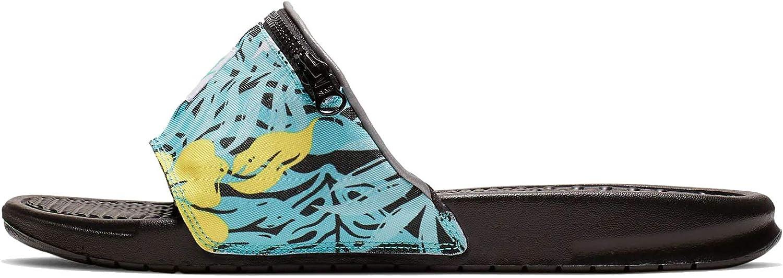 Chanclas Nike Benassi JDI Fanny Pack Print Turquesa 44: Amazon.es: Zapatos y complementos