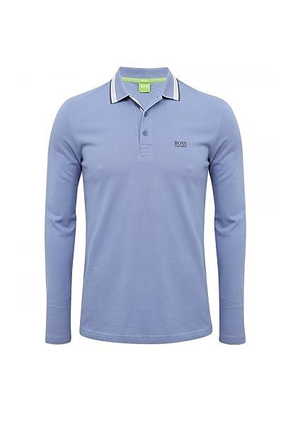6600e6507 Hugo Boss Plisy Polo Shirt, Periwinkle, Small: Amazon.ca: Clothing ...