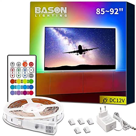 USB LED TV Bias iluminación luz de fondo para 32 a 47 pulgadas HDTV plana: Amazon.es: Hogar
