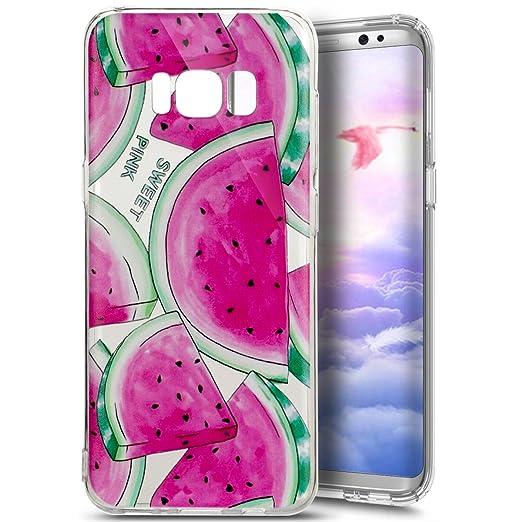 3 opinioni per Custodia Cover Samsung Galaxy S8 Plus,Ukayfe Samsung Galaxy S8 Plus Trasparente