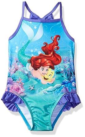 6deee73eb Amazon.com: Disney Big Ariel Girls Swimsuit: Clothing