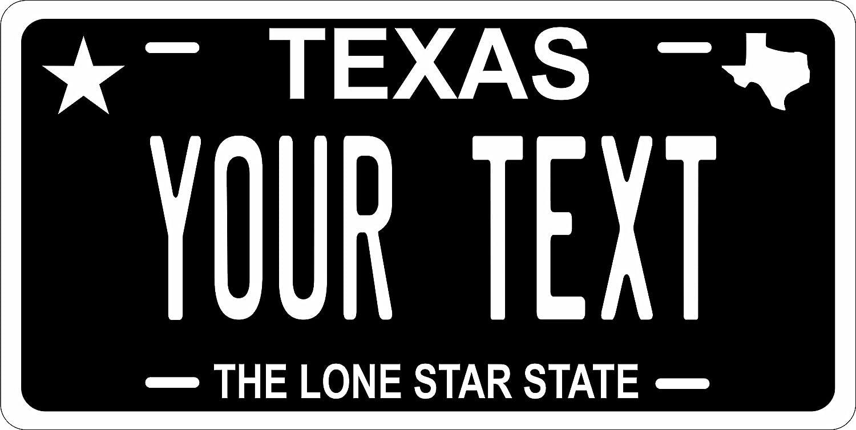 Amazon.es: Texas negro personalizadas diseño etiqueta ...