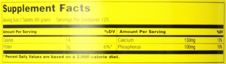 Universal Nutrition Uni-Liver 30 Grain Standard - 250 Tabletas: Amazon.es: Salud y cuidado personal
