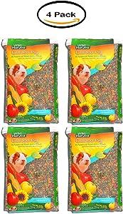 PACK OF 4 - Wild Harvest Premium Advanced Nutrition Blend Guinea Pig Food, 8 lbs
