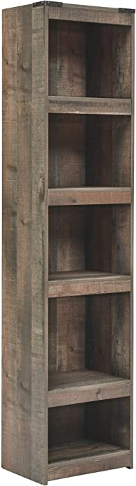 Signature Design by Ashley Trinell Pier-Style Bookcase, Brown