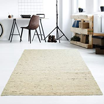 Amazon.de: Taracarpet Moderner Handweb Teppich Alpina handgewebt aus ...