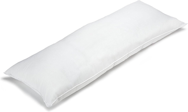 BioPEDIC Premium SofLOFT 20-by-54 Inch Body Pillow, White: Home & Kitchen