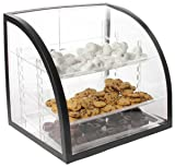 Countertop Bakery Display Case, Clear Acrylic